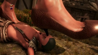 👣Goddess Of Trampling👣 *Warning Nudity* (Gameplay: Brutal Finisher) Support Creator On Patreon: FWFS
