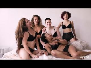 Aerie bras make you feel real good!