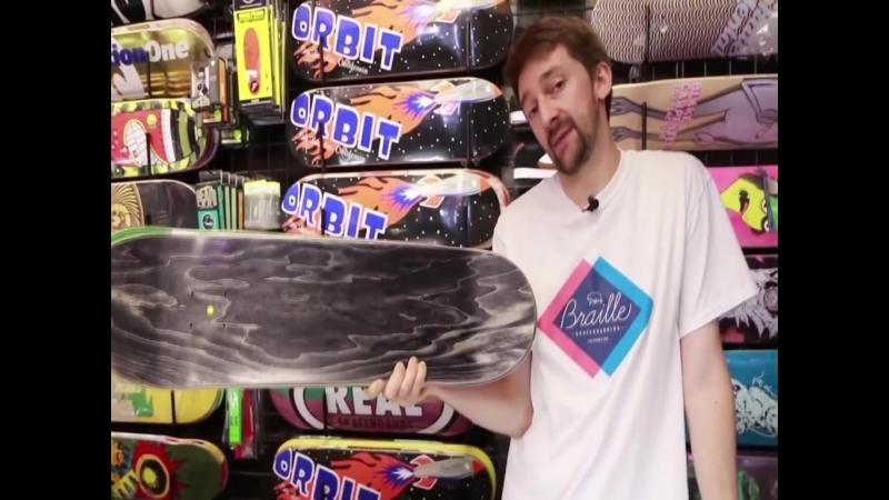 Как собрать скейтборд с Aaron Kyro часть2 дека