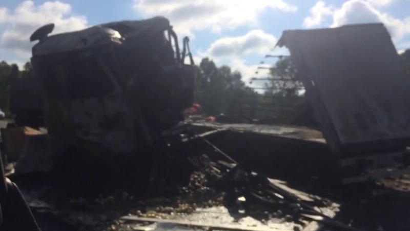 Смертельная авария с участием грузовиков произошла под Челябинском