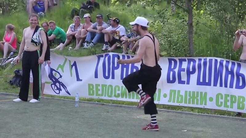 Байкмарафон Салавата Юнусова GIANT Trophy 2013 Концерт, школа жонглеров 'ОГО', Илья Поляков