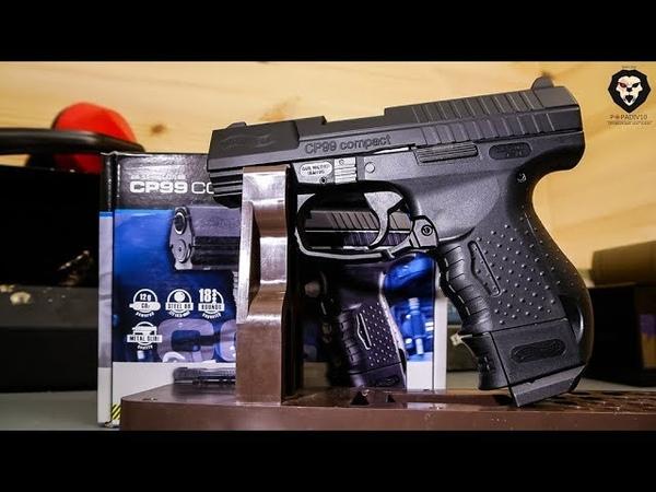 Umarex Walther CP99 Compact пневматический пистолет с блоубеком (отстрел)