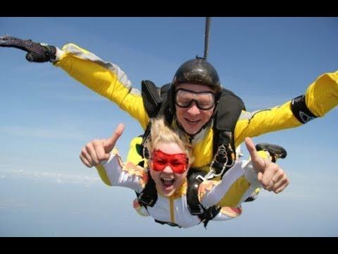 Невероятный прыжок с парашютом 360° ! Скай дайвинг