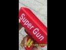 Supreme деньги пистолет красные модные игрушка Рождественский подарок вечерние игрушки игры денежных пушки смешные деньги пистол