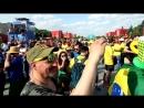 Танцы после игры Бразилия - Коста-Рика
