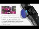 Zhiyun Smooth 4 Q 3-осевой Карманный стабилизатор на шарнирном замке для смартфона для iPhone XS XR X 8 плюс 8 7 P 7 samsung S9