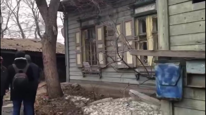 В центре Омска хотят снести дом в котором находятся люди