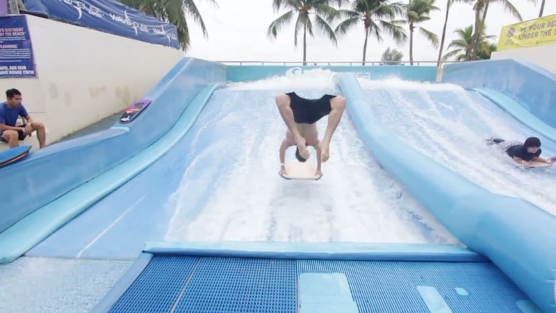 """Bob Reese on Instagram: """"What tricks should I try on this next? I really want to do a full twisting back handspring onto my stomach to enter. pa..."""