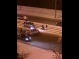 Задержание преступников после перестрелки с полицейскими в Петербурге