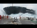 Biggest Ships Launch Compilation HD 2019 🛳⚓⛴🌏