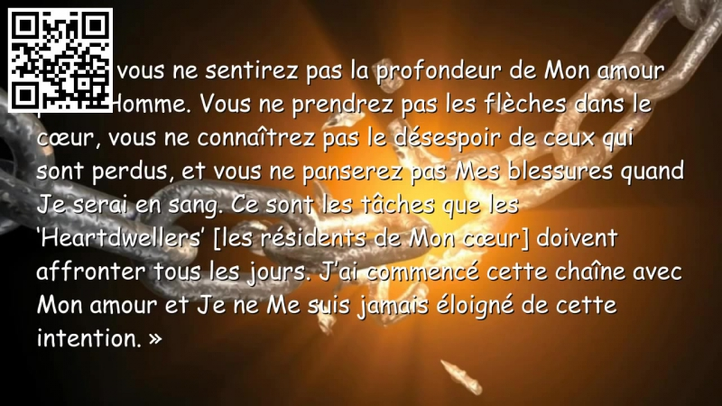 Jésus explique la mission de ceux qui vivent vraiment pour e