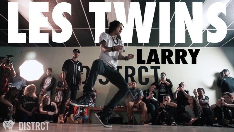 Larry Ca Blaze Bourgeois at Distrct LV | YAK FILMS x LES TWINS