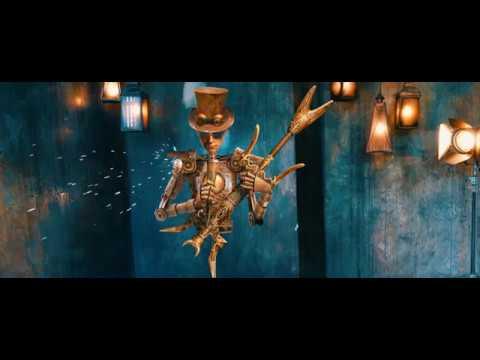 Пикник. Персонажи тура Левитация. Робот-Гитарист.