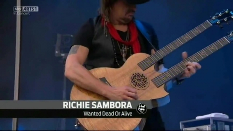 Richie Sambora Orianthi - Wanted dead or alive live Download Festival TV HD 2014 HD