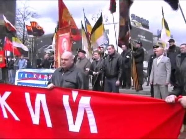 Рогозин на марше нацистов не хочу жить на улице Кадырова! Москва - русский город!