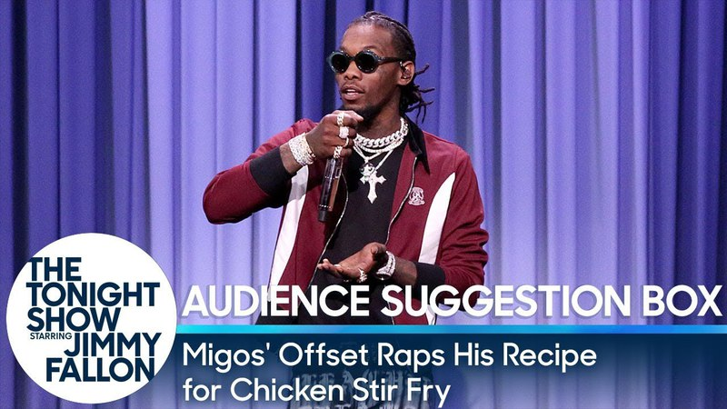 Migos' Offset Raps His Recipe for Chicken Stir-Fry