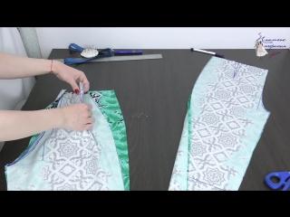 Обработка и сборка брюк. Как сшить летние брюки. Пошагово. Часть 2