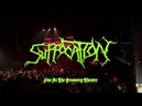 SUFFOCATION - Farewell Frank Tour: Death Chopping North America 2018 Last song infecting the crypts