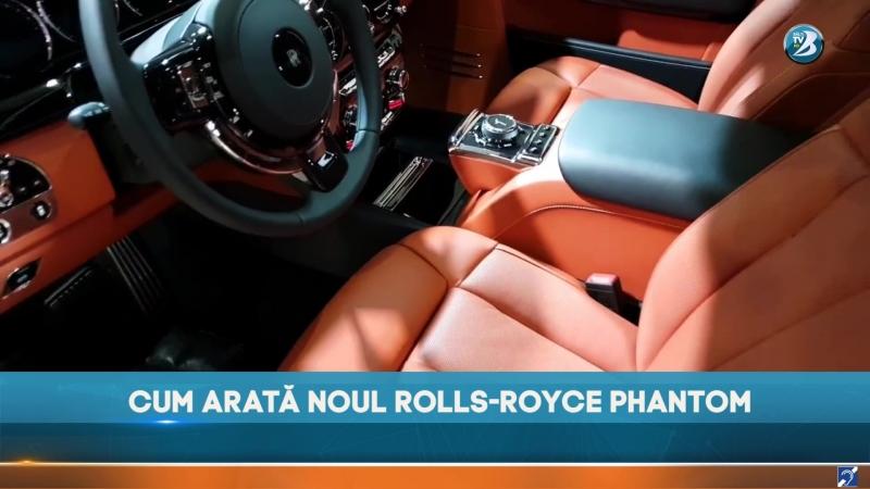 Cum arată noul Rolls-Royce Phantom