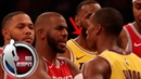 Lakers vs Rockets brawl as told by the players | NBA on ESPN