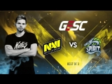 NAVI vs Team Spirit @ GESC: Thailand
