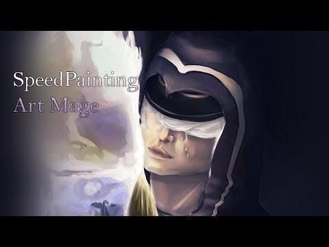 Art Mage - SpeedPainting