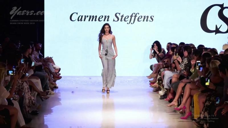 Carmen Steffens Fashion Show SS 2019 Miami Swim Week 2018 Art Hearts Fashion - Luxury Fashion World Exclusive