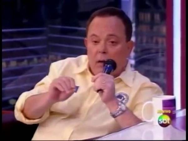 Fernando Vanucci bêbado na Rede TV Ele mesmo responde