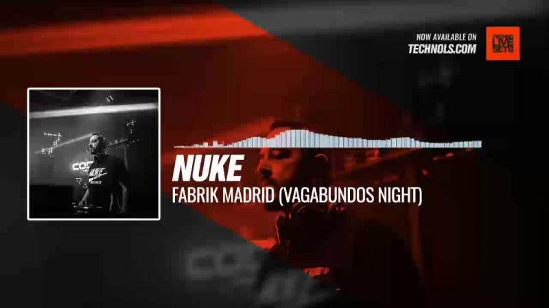 Techno music with @Nuke_dj - Fabrik Madrid (Vagabundos Night) Periscope