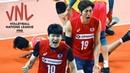 Korea National Volleyball Team   Unbelievable Moments   VNL 2018