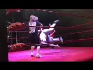 Sinn Bodhi v Abby Dangerous Training Match