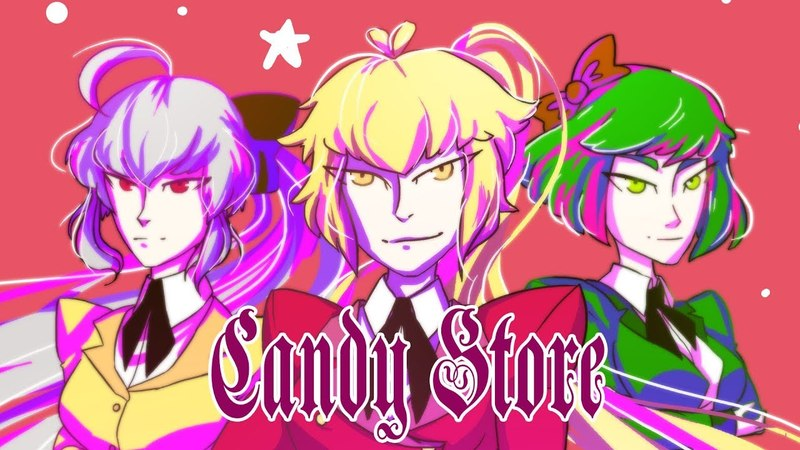Candy Store feat. DTM and Gumi - SpeedPaint (Photoshop СS6)