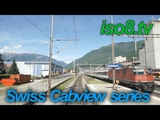 FHD60p CabView SBB Re44, Switzerland Vol.1 Climbing Gotthard-pass
