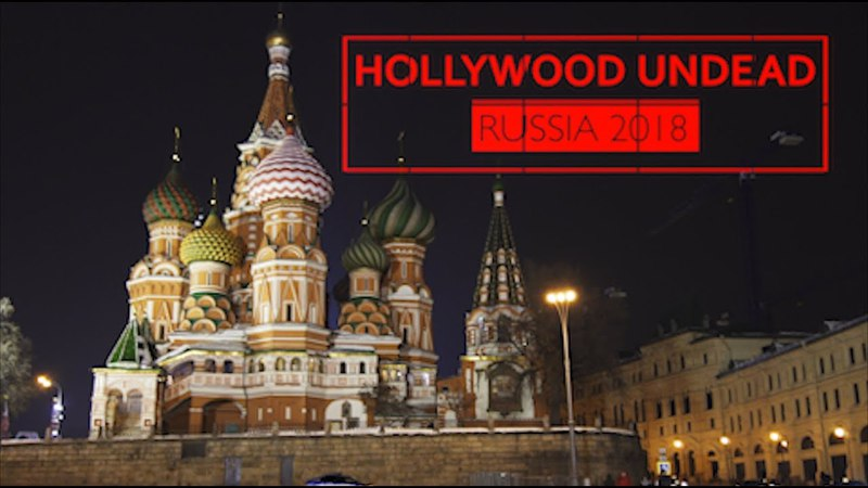HOLLYWOOD UNDEAD   RUSSIA 2018   SHORT FILM DOCUMENTARY