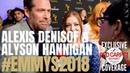 Alexis Denisof Alyson Hannigan interviewed at Performer Peer Group Emmy Awards Celebration Emmys