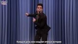 Брендон Ури спел кавер на Утиные истории в Вечернем шоу Джимми Феллона (англ. с рус. субтитрами)