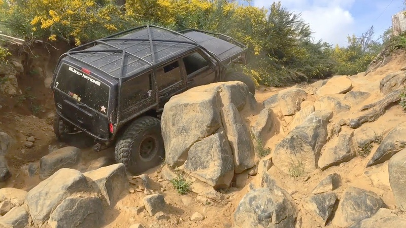 ROCK CROWLER 4X4 EXTREME - Crazy Off Roading Fails WIN