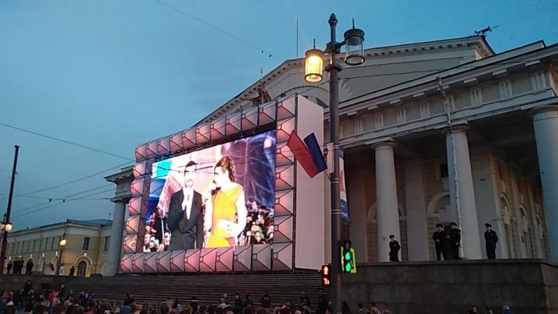 Алые паруса (концерт на Дворцовой)