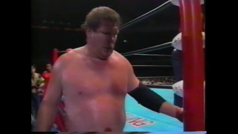 1993.06.01 - Terry Gordy vs. Stan Hansen