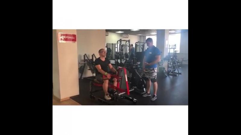 После жарких 🔥☄️выходных ☀️спеши скорее ⏰ на тренировку в Прайм Фитнес ✅ а сейчас мы покажем тренировку с премиум тренером Серге