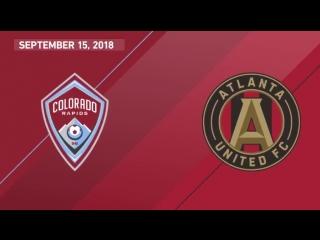 Highlights: colorado rapids vs atlanta united fc | september 15, 2018