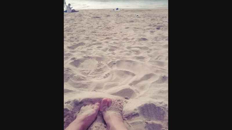 ммм тёплый песочек