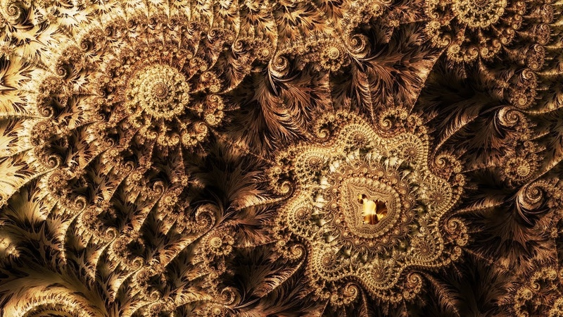Mandelbrot landscape fractal zoom 008 - Timeless wisdom -