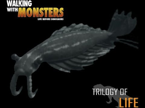 TRILOGY OF LIFE - Walking with Monsters - Anomalocaris saron