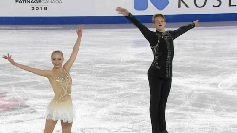 Александра Бойкова - Дмитрий Козловский. Произвольная программа. Skate Canada.