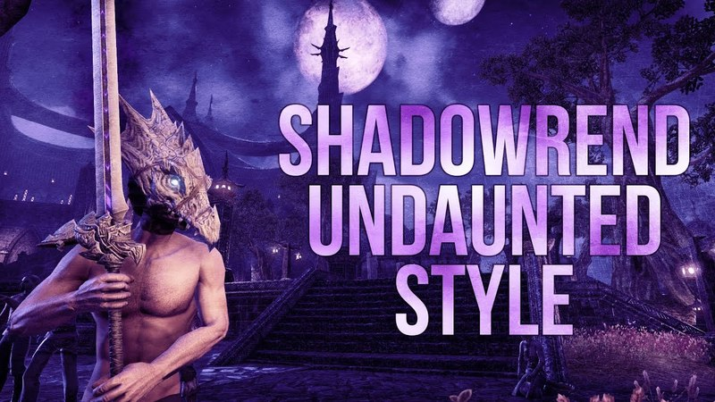 ESO Shadowrend Undaunted Style - Preview of the Shadowrend Outfit Style for The Elder Scrolls Online