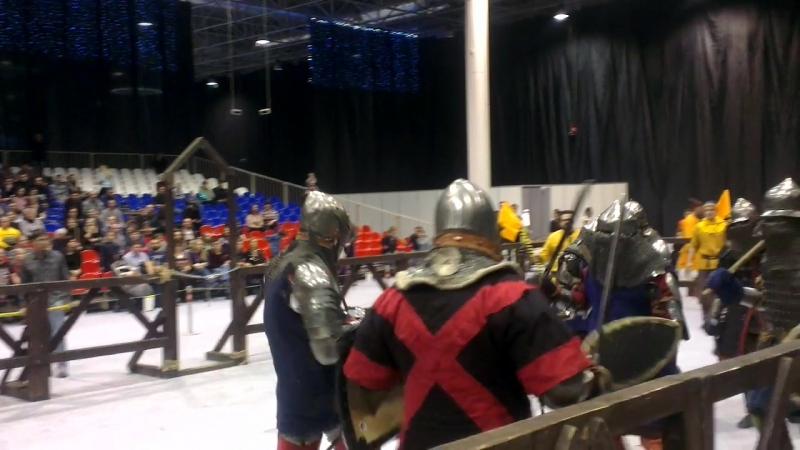 Сибирский Плацдарм (2018) Северное Копье VS Братина - Сход 2 - Ракурс 2