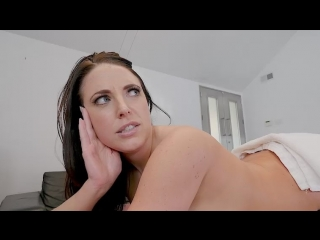 Angela white gets a proper massage / big tits round asses