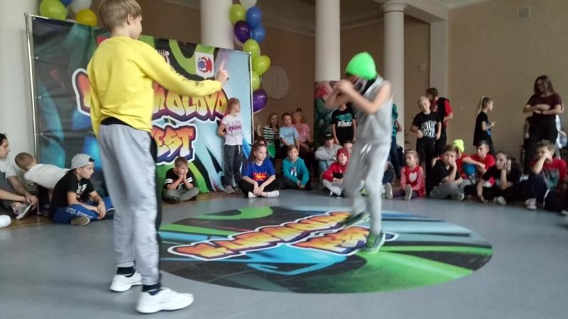 Дима Конончук vs. Bboy Art - 2й круг