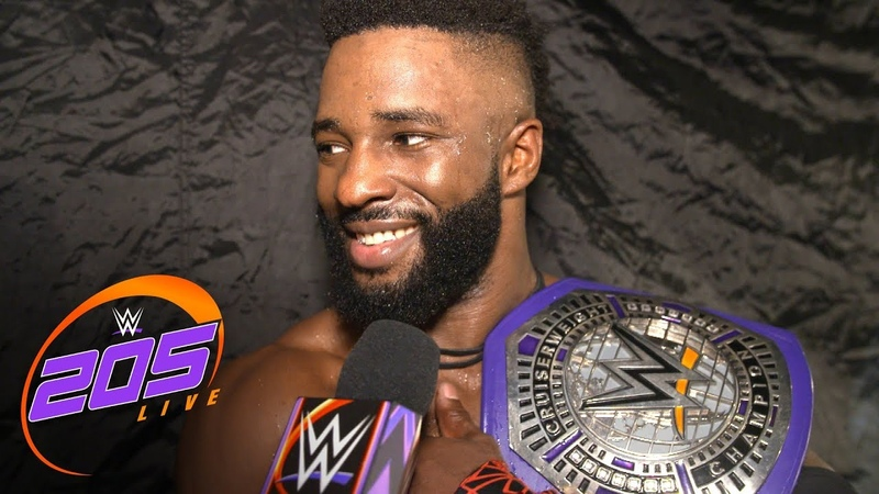 Alexander revels in his successful Cruiserweight Title defense: 205 Live Exclusive, July 10, 2018